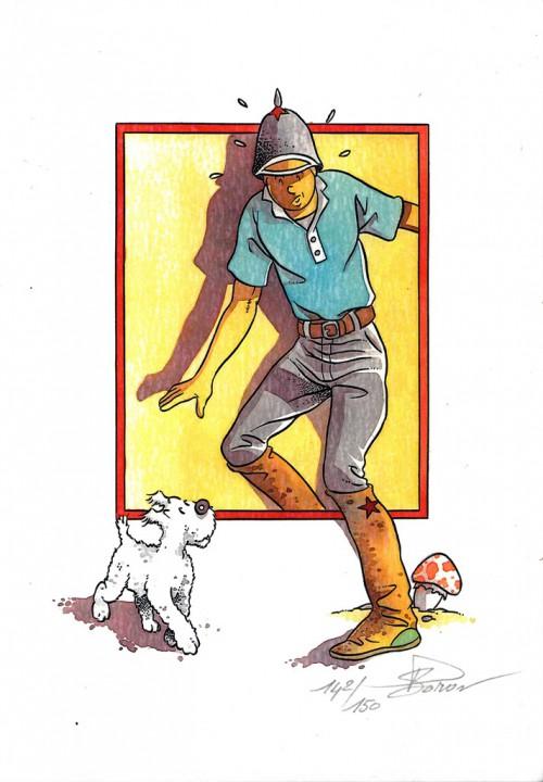 Tintin - Pastiches, parodies pirates -25- Tintin et le mystère de la toison dor en 2019