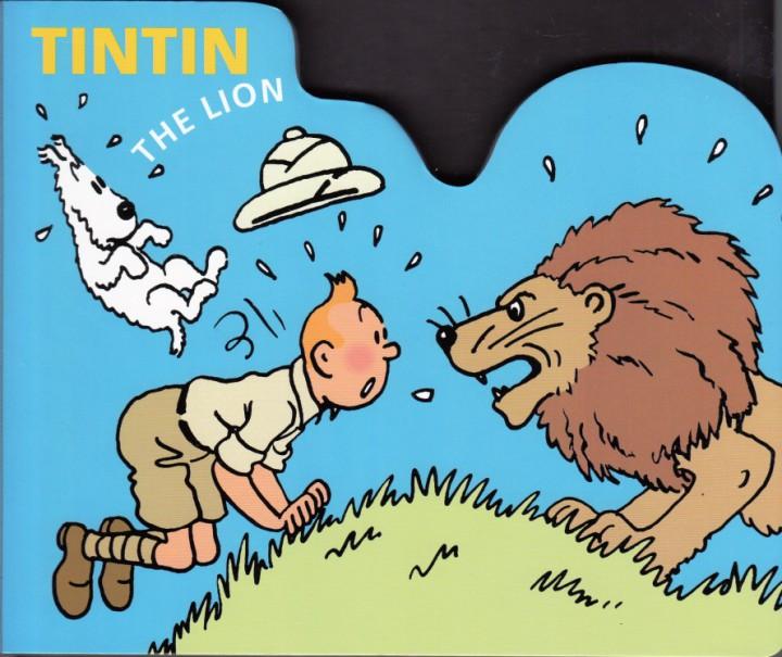 tintin et les animaux en anglais the lion le lion moulinsart herg. Black Bedroom Furniture Sets. Home Design Ideas